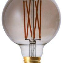 Elect LED Filament, Globe Smoke 95mm