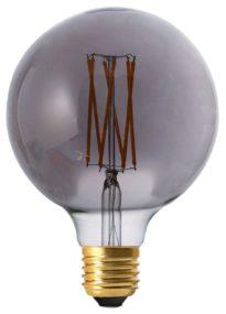 Elect LED Filament, Globe Smoke 125mm