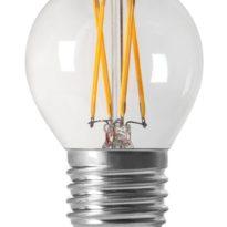 Shine LED Filament, Globe Clear E27