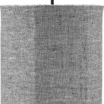 Round Takskärm, Lin GreyBlack 40cm