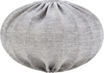 Hilma Takskärm, Lin GreyBlack 60cm