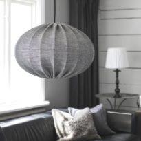 Hilma Takskärm, Lin GreyBlack 50cm