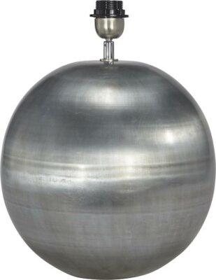 Globe Lampfot, Pale Silver 30cm