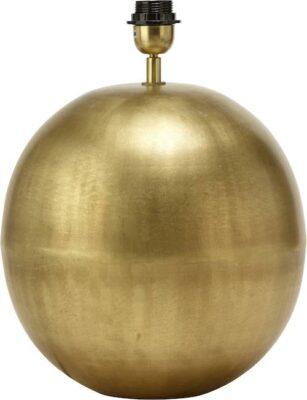 Globe Lampfot, Pale Gold 30cm