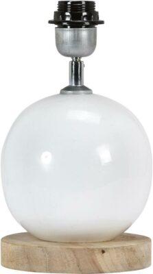Fenby Lampfot, White 20cm