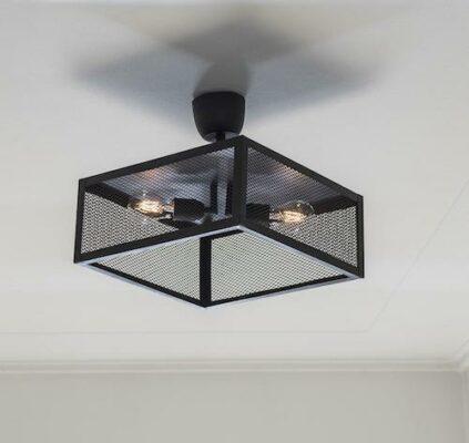 Grid plafond, Black 35cm