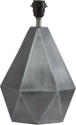 Trinity Lampfot, Matt Silver 39cm