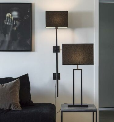 Rod bordslampa, Black 47cm
