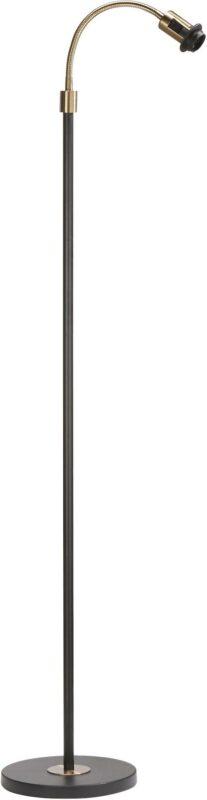 Cia Enarmad Golvfot, Black/Brass 160cm